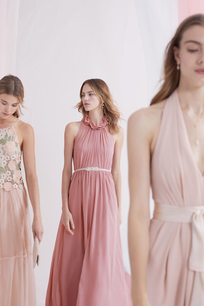 Jill Jill Stuart Rosy Nude Rasa Dress | BHLDN