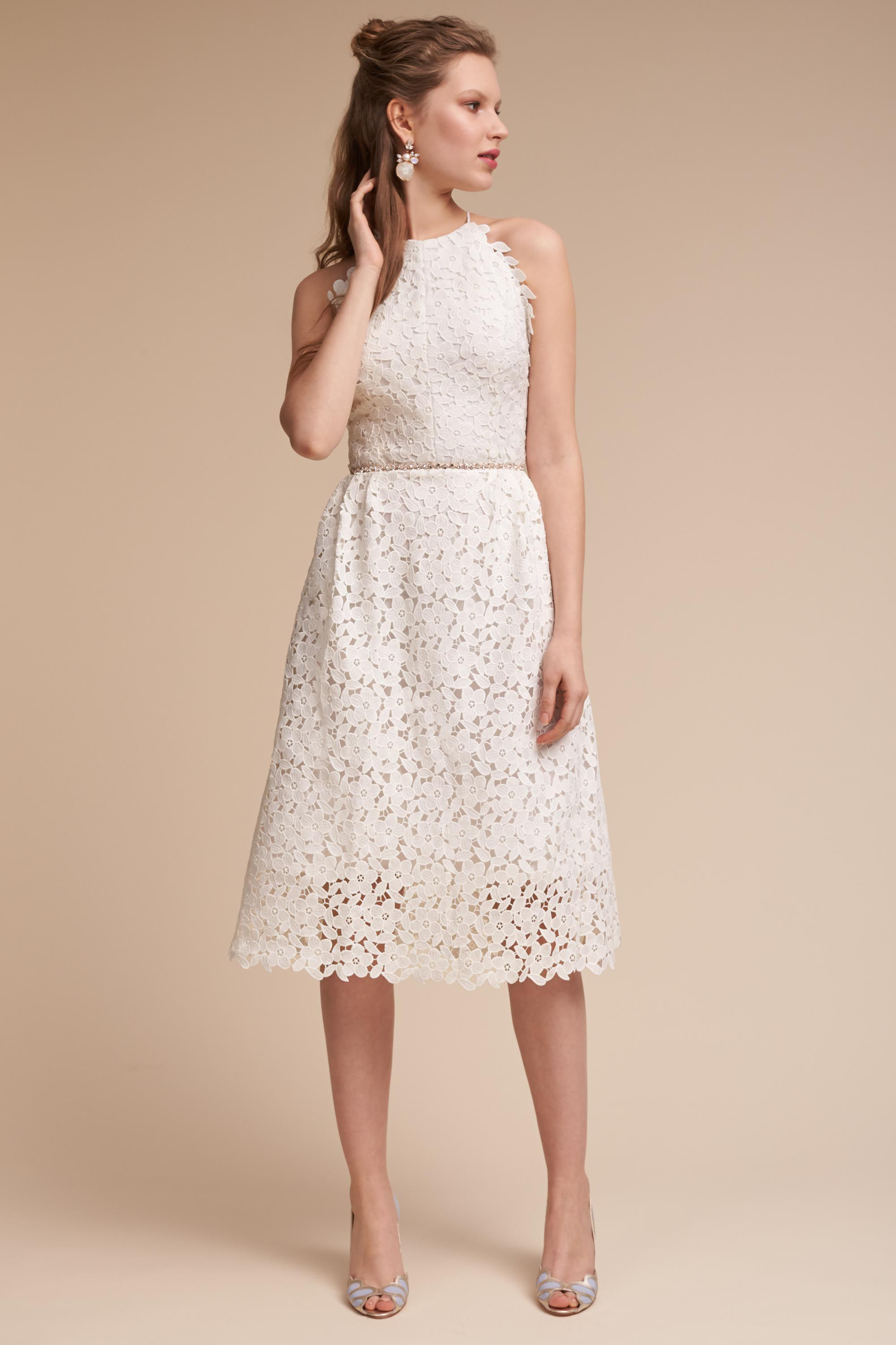 Romantic BHLDN Wedding Rehearsal Dresses - James Dress
