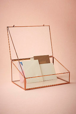 Kiss of Copper Envelope Holder