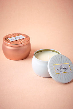 Perfumed Mini Candle Tin