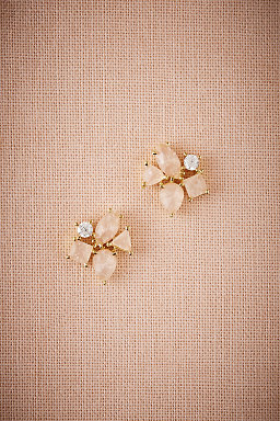 Blushing Petal Earrings