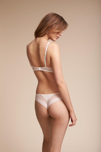 Ivory Ashbury Lace Brief | BHLDN