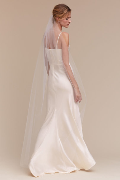 Debra Moreland Ivory Moonlight Veil | BHLDN