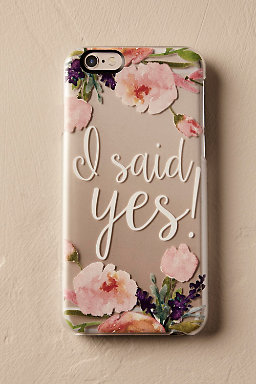 I Said Yes! iPhone Case
