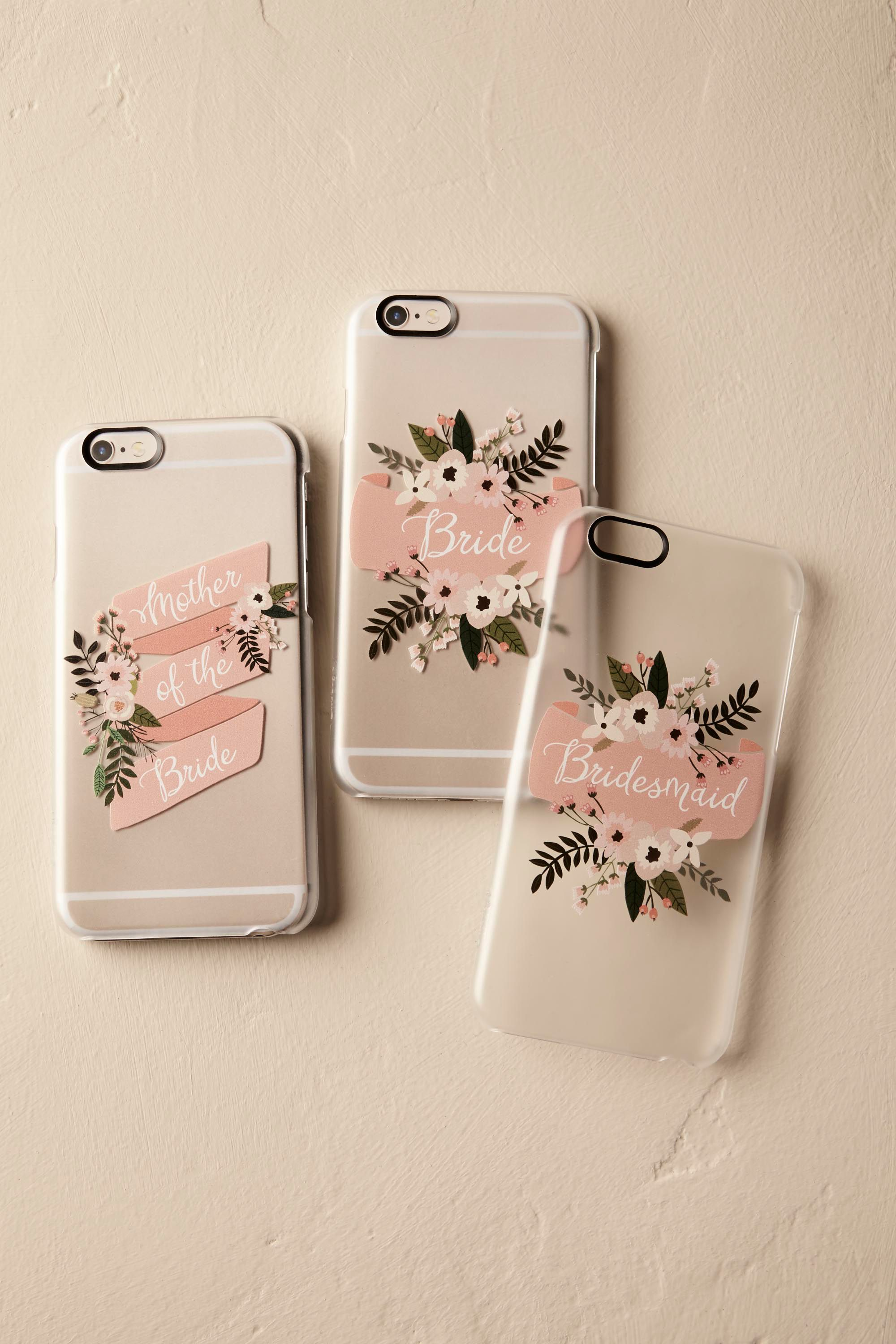 Blushing Bouquet iPhone Case