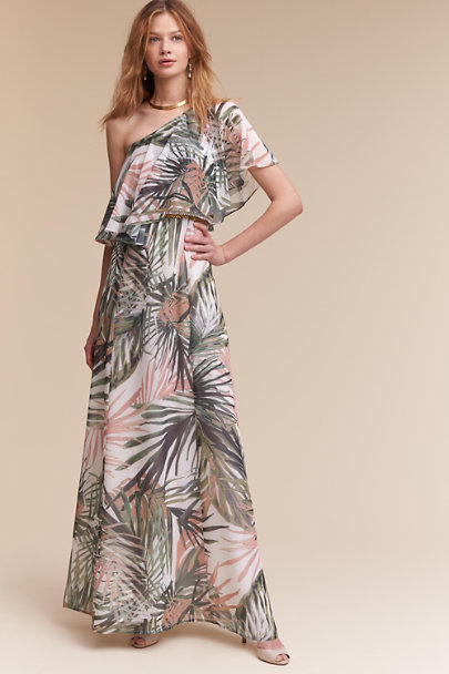 Paper Crown Botanical Multi Imari Maxi Dress | BHLDN