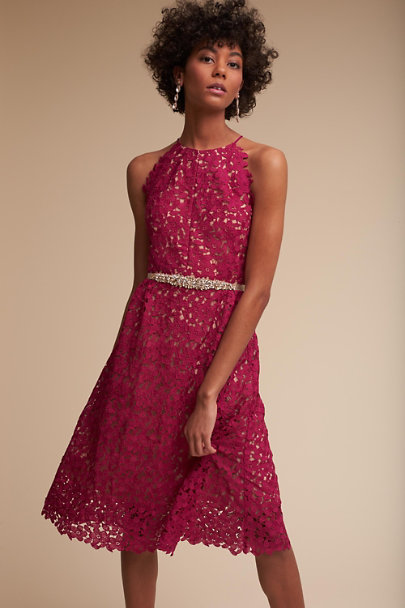 Hitherto Fuschia James Dress | BHLDN
