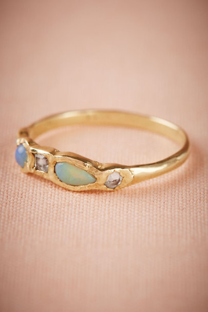 Gold Journey Treasure Mermaid Ring | BHLDN