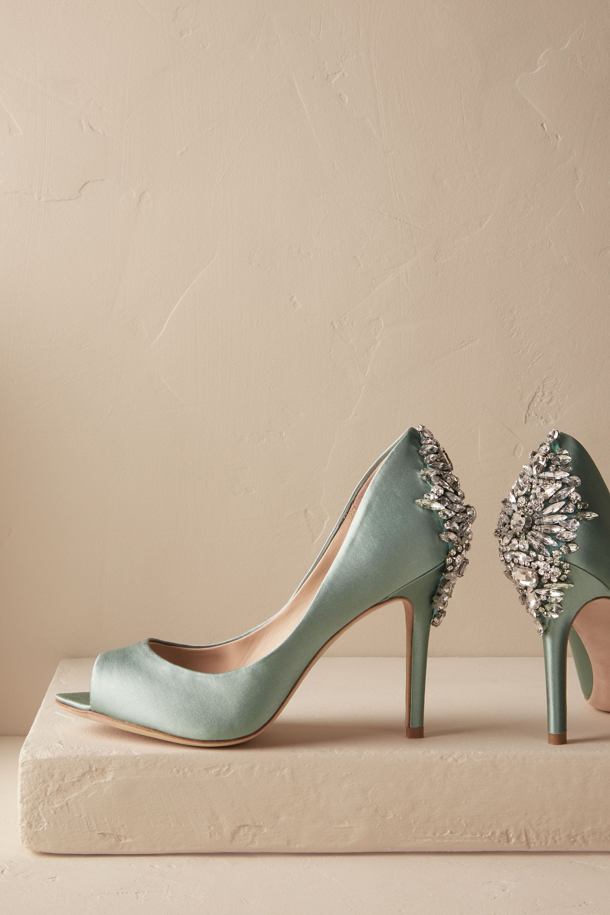 Bella Crystal Heels