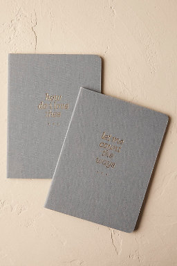 Pair of Vow Journals (2)