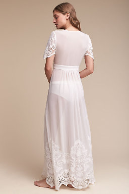 Olivia Embroidered Robe