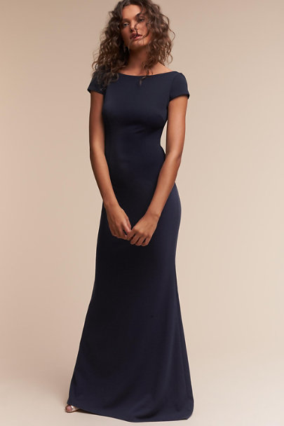 Navy Madison Dress | BHLDN