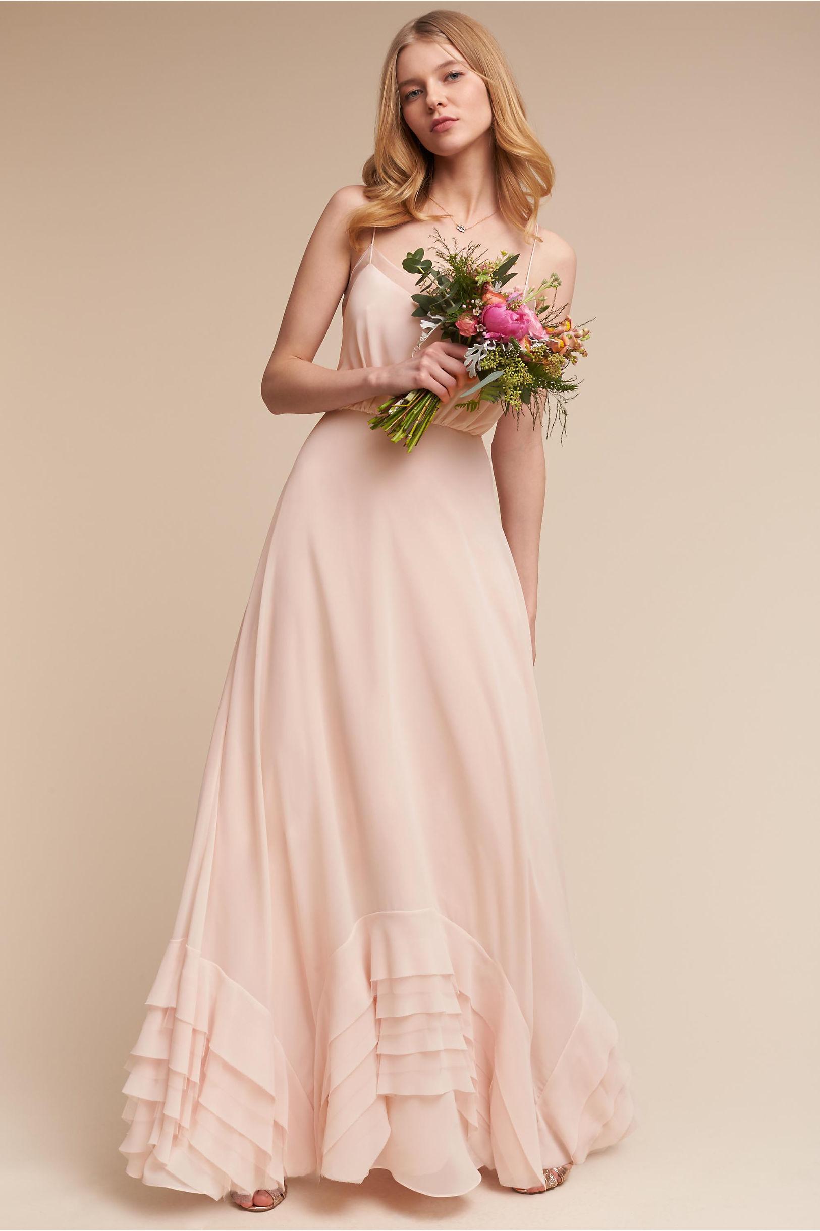 bridal party bridesmaid dresses bridesmaid wedding dresses Dove Dress