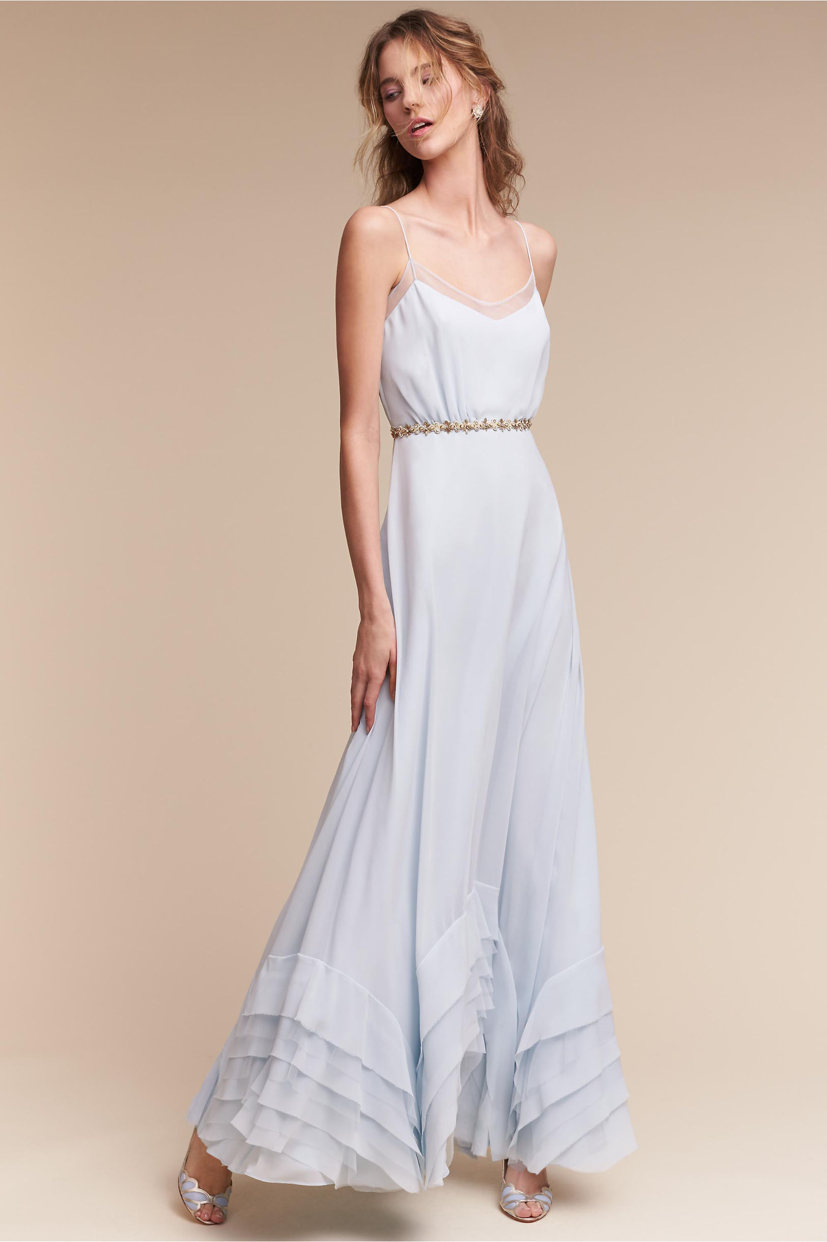 Long Bridesmaid Dresses | Chiffon Styles | BHLDN