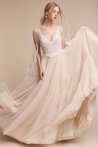 Watters Blush Chantal Gown | BHLDN