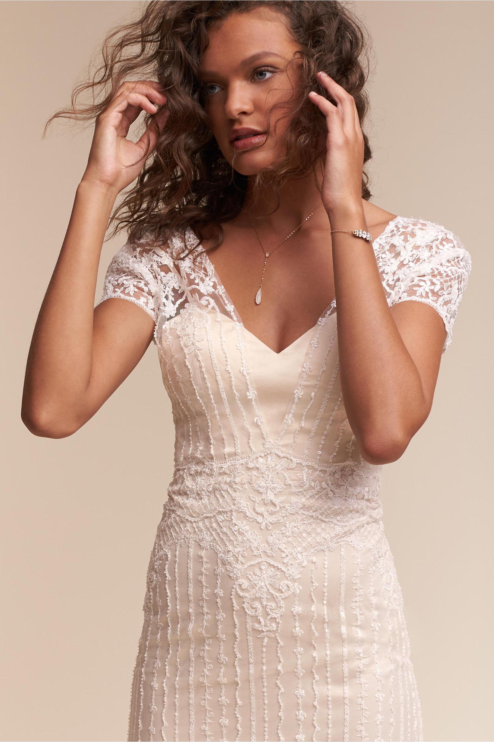 bride wedding dresses sleeves cap sleeve wedding dress Selah Gown Selah Gown