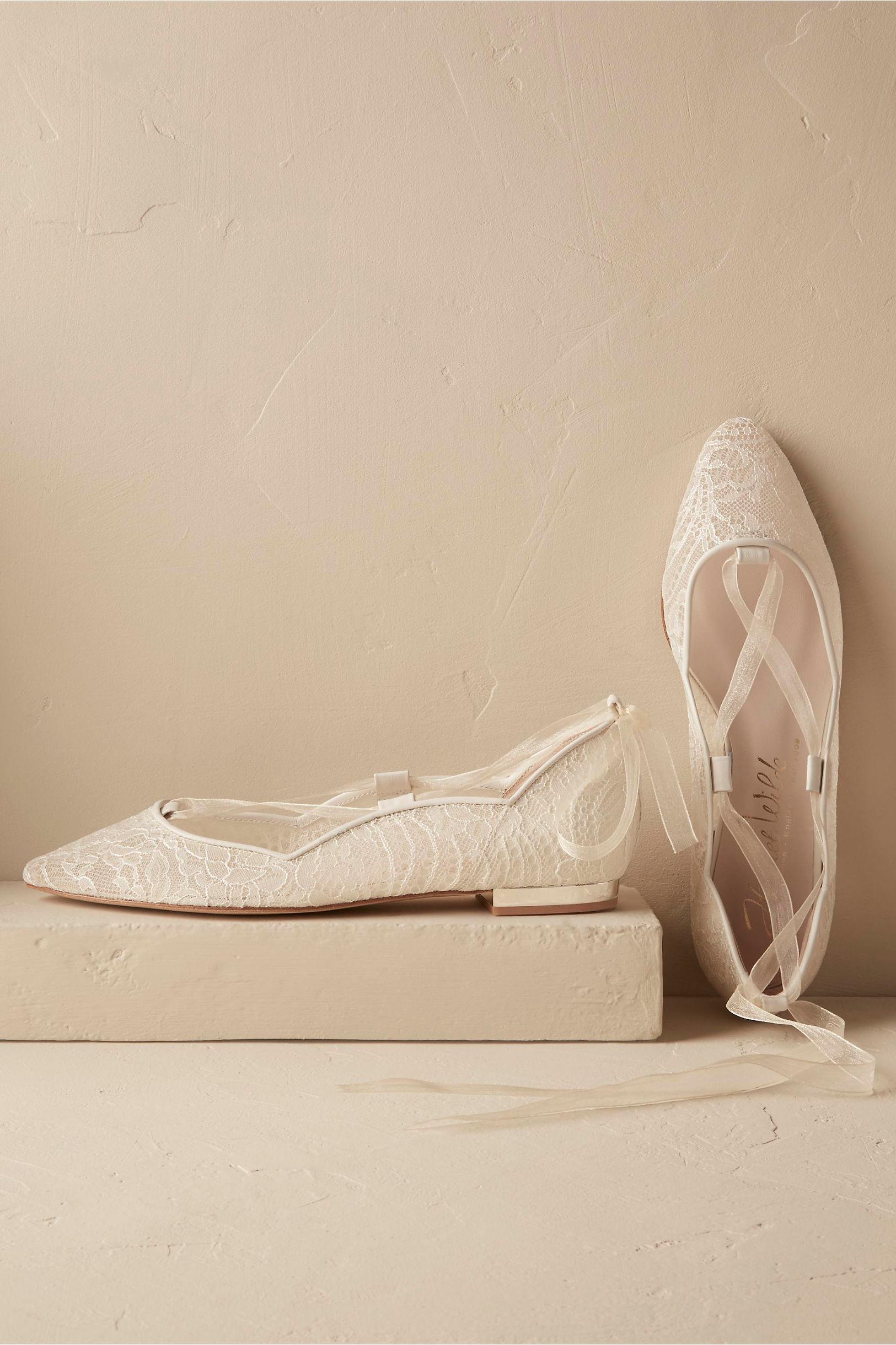 shoes flats wedding flats Marielena Lace Flats