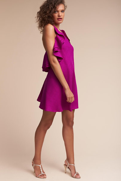 Badgley Mischka Magenta Kieran Dress | BHLDN