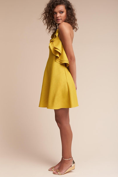 Badgley Mischka Gold Kieran Dress | BHLDN
