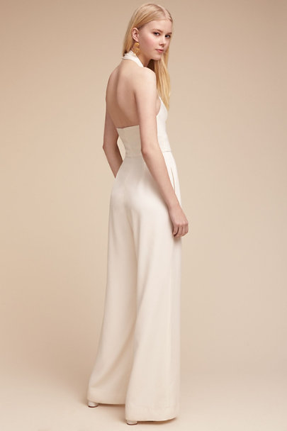 Jill Jill Stuart Off White Kathryn Jumpsuit | BHLDN