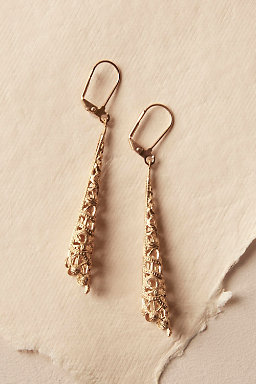 Gilt Spire Earrings