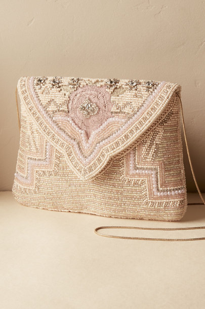 Blush Caroline Clutch | BHLDN