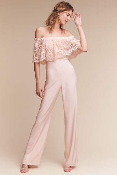 Theia Bridal Ballet Slipper Mila Jumpsuit | BHLDN