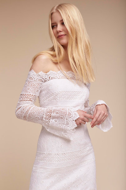 White Abriana Dress | BHLDN