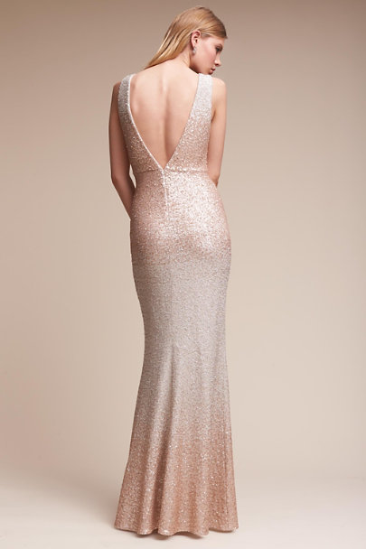 Badgley Mischka Blush Lotte Gown | BHLDN
