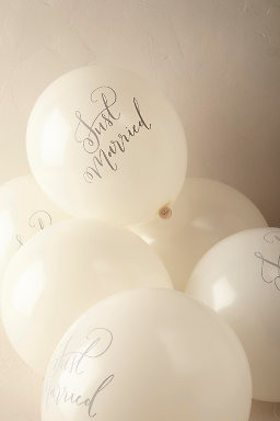 Just Married Balloons (10)