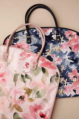 Floral Burst Garment Bag