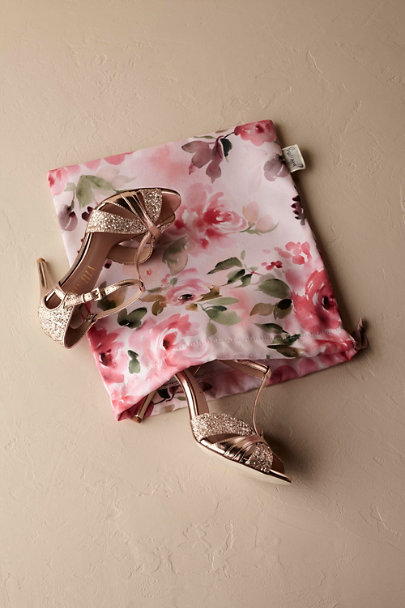 Rose Floral Burst Shoe Bag | BHLDN