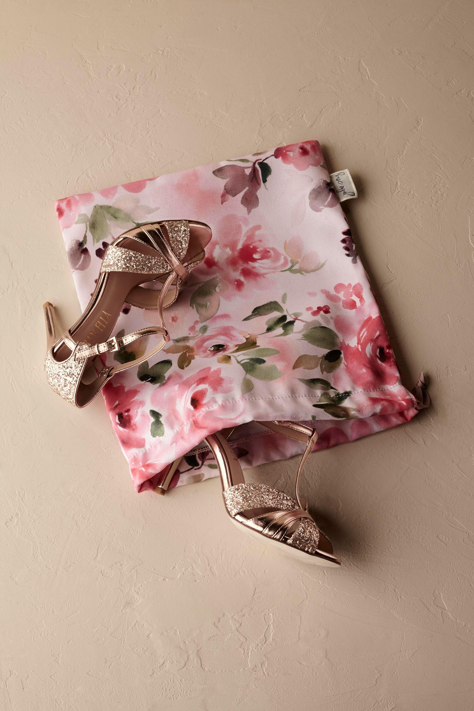 Floral Burst Shoe Bag