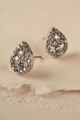Lustra Teardrop Post Earrings
