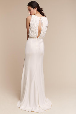 Backless Wedding Dresses | Open & Low Back Styles | BHLDN
