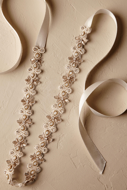 Wedding Bridal Sashes lakshmi sash in bride bhldn gold bhldn