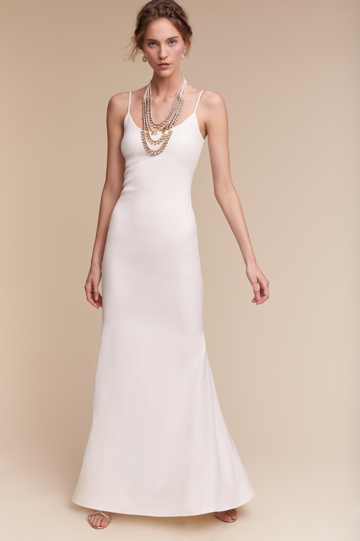 Wedding Sheath Wedding Dresses sheath column wedding dresses bhldn monroe gown gown