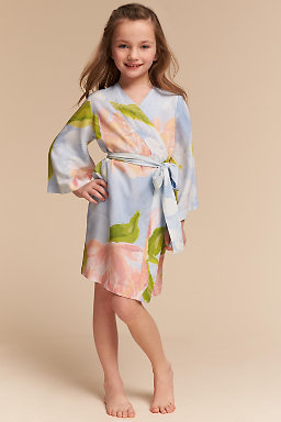 Botanic Garden Flower Girl Robe