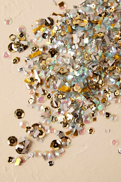 Gold Moonshadow Confetti | BHLDN