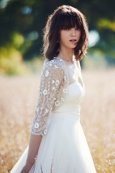 Catherine Deane Ivory Darla Camisole Top | BHLDN