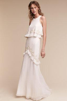 Wedding Dresses | Vintage & Simple Wedding Gowns | BHLDN
