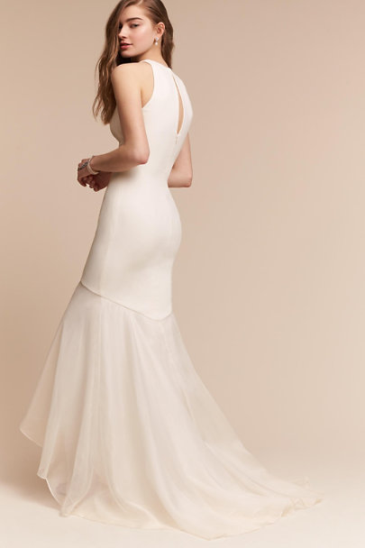 Theia Bridal Ivory Elle Gown | BHLDN