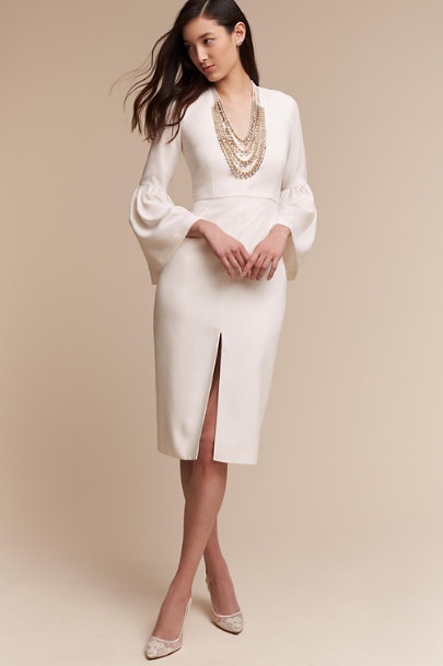 Jill Jill Stuart Ivory Lilah Dress | BHLDN