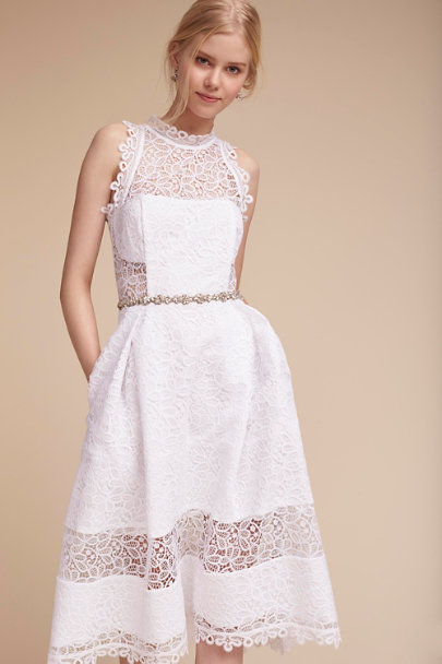 White Marita Dress | BHLDN