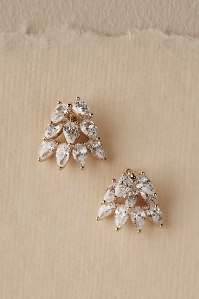 Theia Jewelry Gold Reiss Earrings | BHLDN