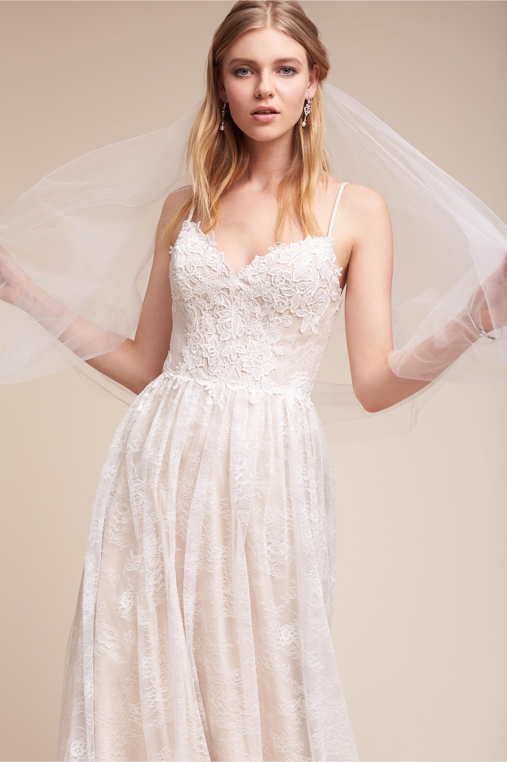 A-Line Wedding Dresses | A-Line Gowns with Lace | BHLDN