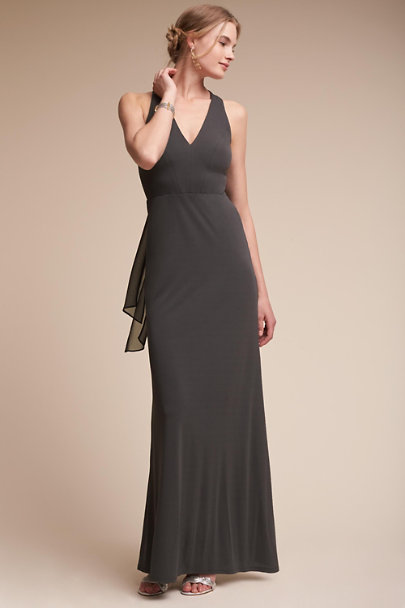 Grey Billiard Dress | BHLDN