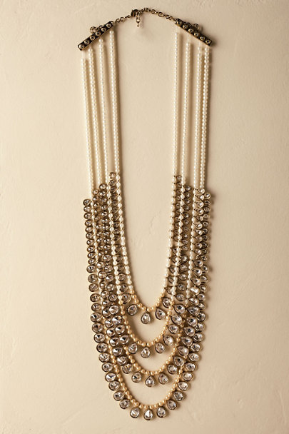 Gold Cressiat Necklace | BHLDN