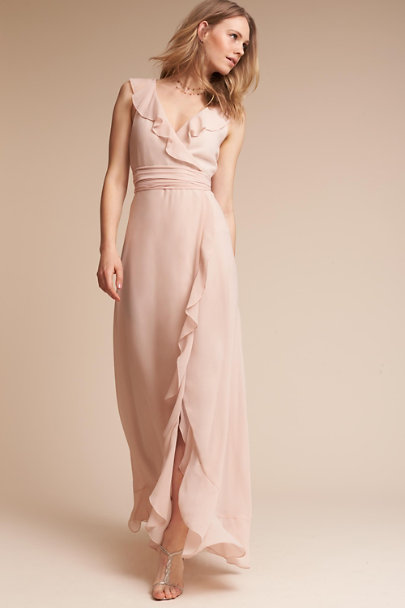 Donna Morgan Blush Joelle Dress | BHLDN