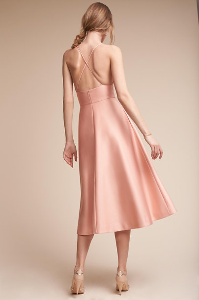 Hitherto Almond Shelby Dress | BHLDN